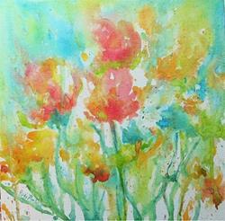 Art: Soft Floral by Artist Ulrike 'Ricky' Martin