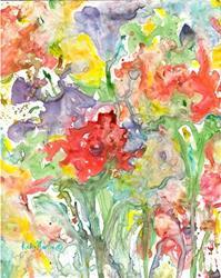 Art: Flower Abstract 2 by Artist Ulrike 'Ricky' Martin