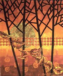 Art: September Skies by Artist Shelly Bedsaul