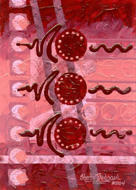 Art: Berries (sold) by Artist Shelly Bedsaul