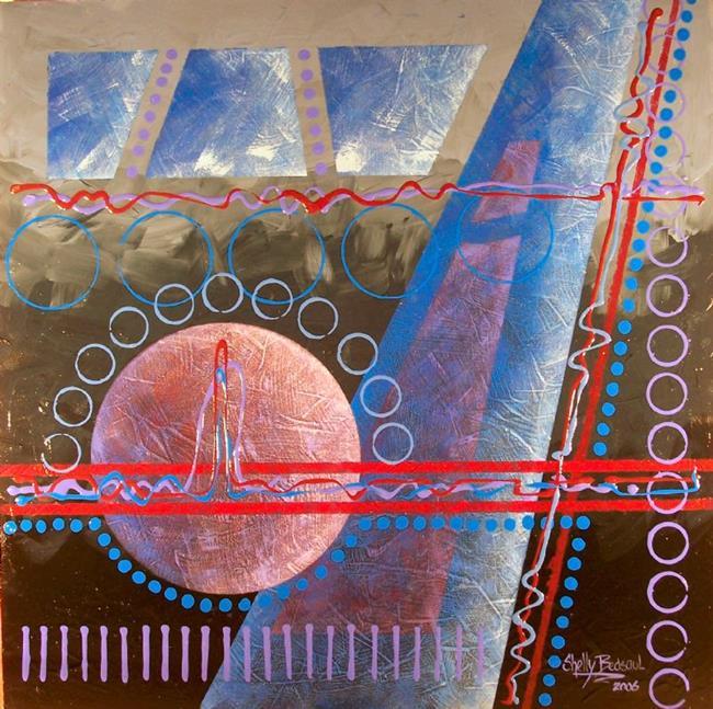 Art: Giant Steps(sold) by Artist Shelly Bedsaul