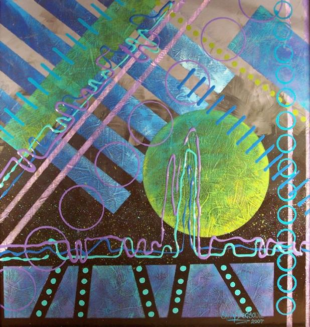 Art: Out of Nowhere (sold) by Artist Shelly Bedsaul