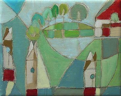 Art: tree houses by Artist C. k. Agathocleous
