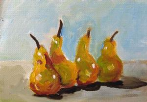 Detail Image for art Pears Aceo