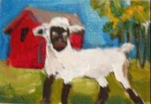 Detail Image for art Lamb Aceo