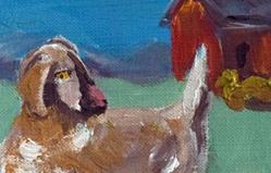 Art: Goat Aceo- SOLD by Artist Delilah Smith