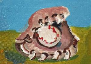 Detail Image for art Baseball and Glove