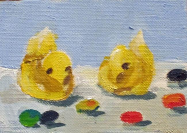 Art: Easter Candy Aceo by Artist Delilah Smith