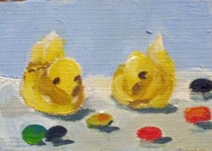 Detail Image for art Easter Candy Aceo