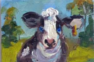 Detail Image for art Cow Aceo