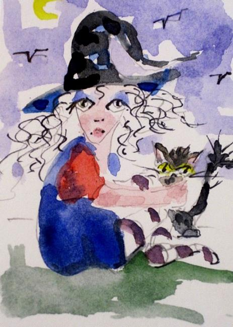 Art: Little Witch by Artist Delilah Smith