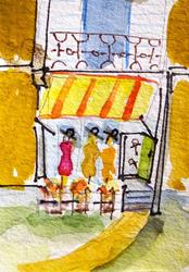 Art: Boutique by Artist Delilah Smith