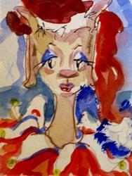 Art: Big Eared Elf by Artist Delilah Smith