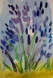 Art: Lavender by Artist Delilah Smith