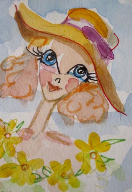 Art: Daisy Girl by Artist Delilah Smith