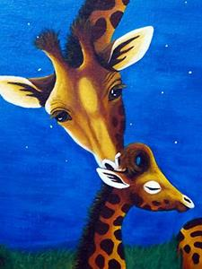 Detail Image for art Justice's Giraffes (Commission)