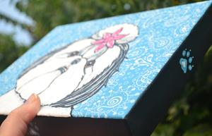 Detail Image for art Paisley Shih Tzu