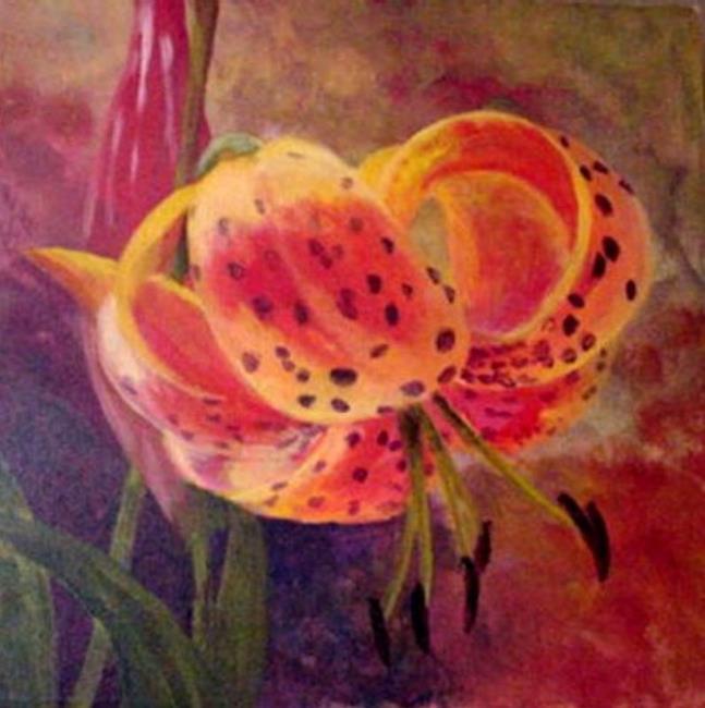 Art: Tiger Lily by Artist Lelo Colclough
