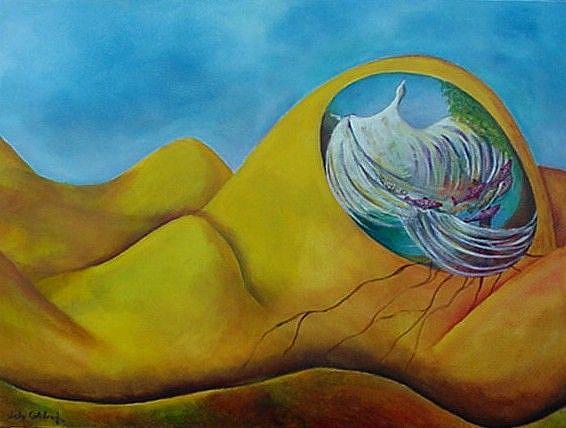 Art: Mother Earth by Artist Lelo Colclough