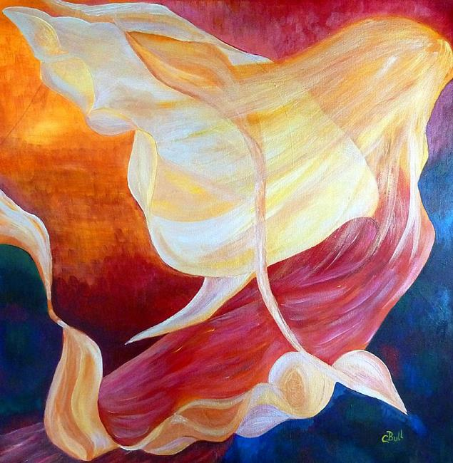 Art: Tribute to an Angel by Artist Claire Bull