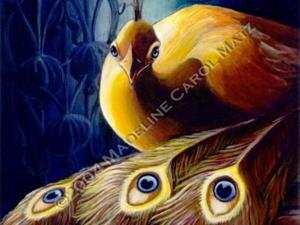 Detail Image for art The Golden Peacock