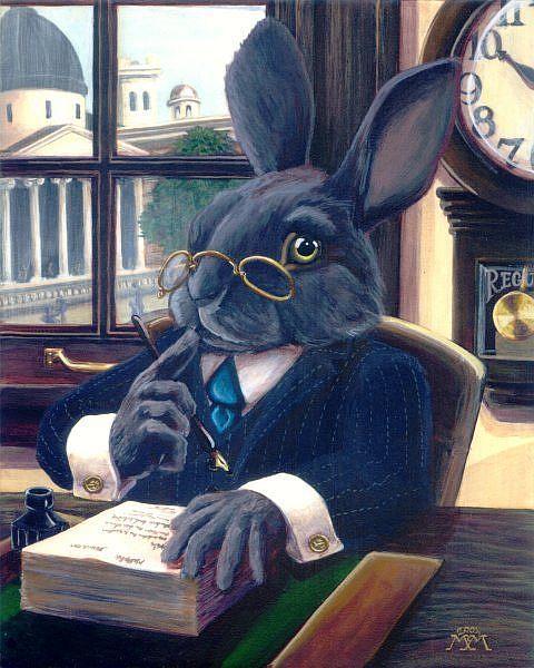 Art: Mr. Hopkins by Artist Madeline  Carol Matz