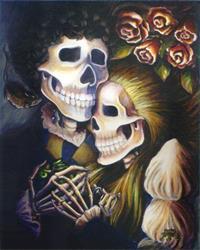Art: Romeo & Juliet's First Anniversary by Artist Madeline  Carol Matz