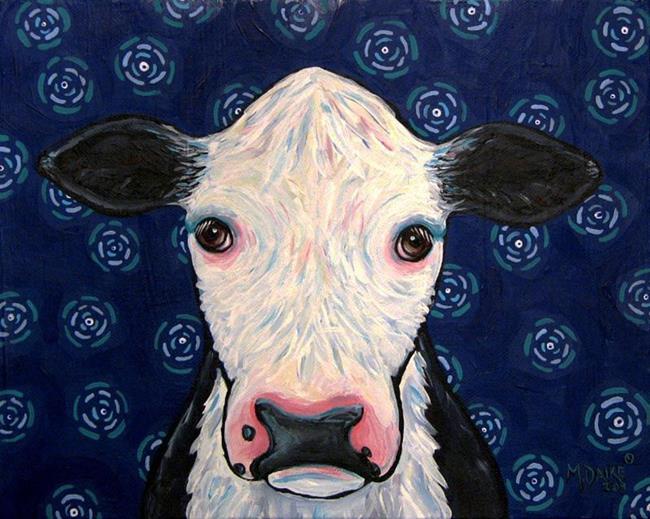 Art: ebsq cow.jpg by Artist Melinda Dalke