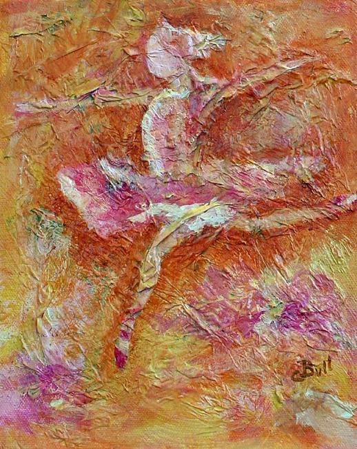 Art: Ballerina Girl by Artist Claire Bull