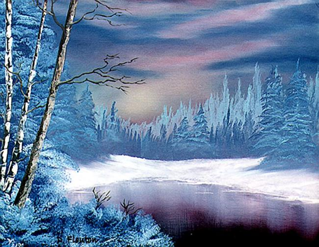 Art: Winter Twilight by Artist Deanne Flouton