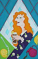 Art: Sweet Iced Tea by Artist Melissa Morton