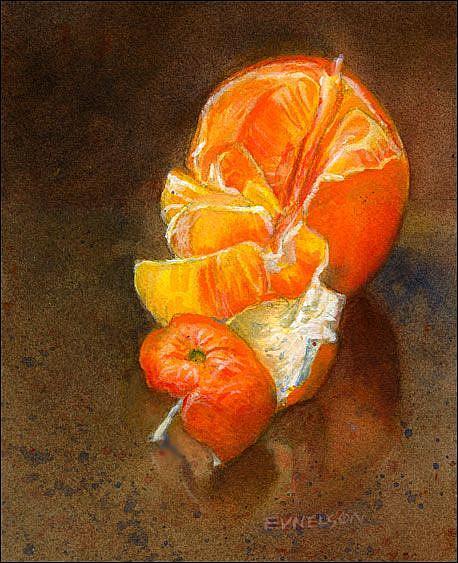 Art: Orange You Glad? by Artist Erika Nelson