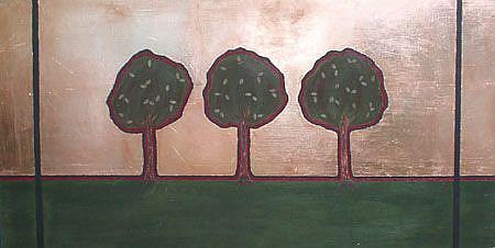Art: Into the Trees by Artist Melissa Morton