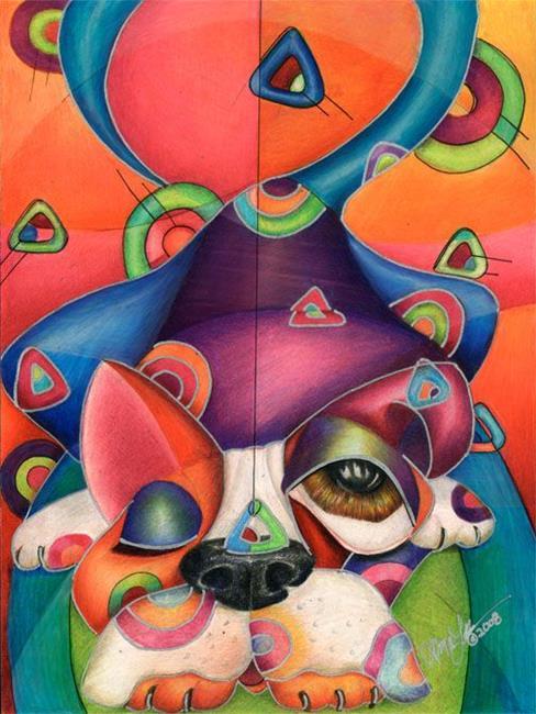 Art: THE ART OF WAIT by Artist Alma Lee