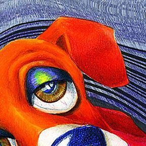 Detail Image for art Puppy Blinds Spot