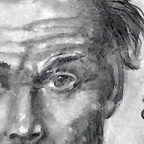 Detail Image for art Gustav Klimt Portrait (SOLD)