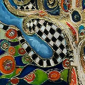 Detail Image for art The Changing Seasons of Klimt