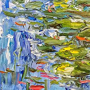Detail Image for art Water Pond Lilies
