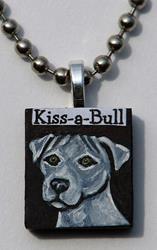 Art: Kiss-a-Bull by Artist Melinda Dalke