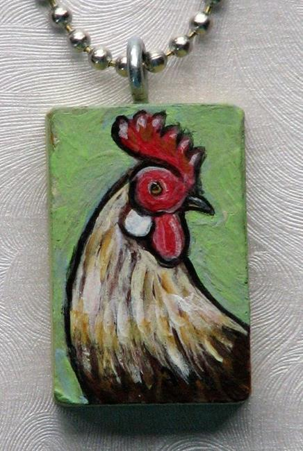 Art: Rooster 1 by Artist Melinda Dalke