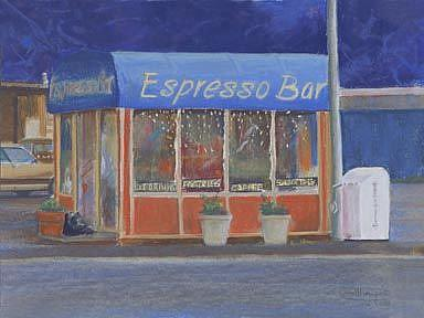 Art: Morning Coffee by Artist Carol Thompson
