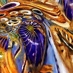 Detail Image for art Blue Cockelshells