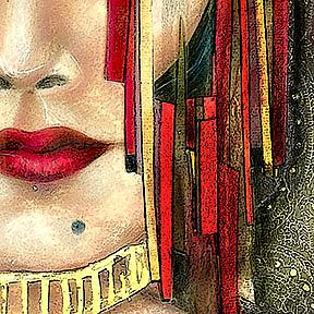 Detail Image for art Once I slept Now...