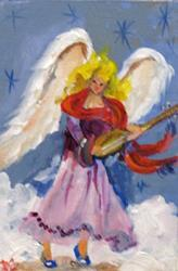 Art: Angel No 9 Musical-sold by Artist Delilah Smith