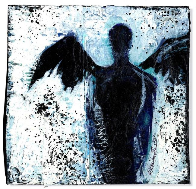 Art: Dark Angel by Artist Kathy Morton Stanion