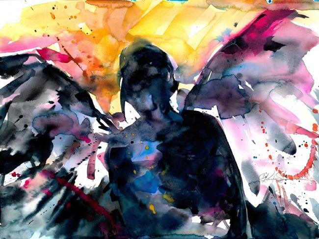 Art: Angel by Artist Kathy Morton Stanion