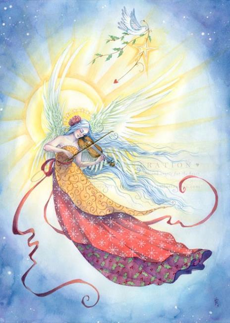 Art: Strings of Worship by Artist Sara Burrier