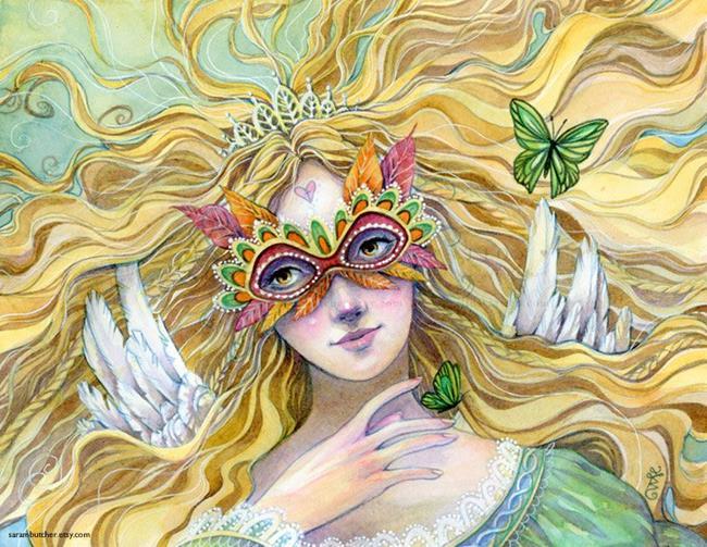Art: The Princess by Artist Sara Burrier