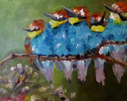 Art: Bright and Fluffy by Artist Delilah Smith