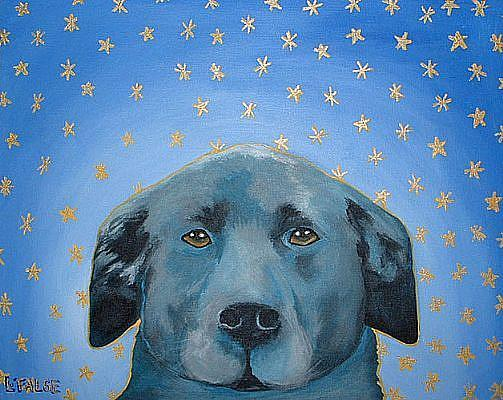 Art: Angus - Best Dog in the Universe! by Artist Lindi Levison